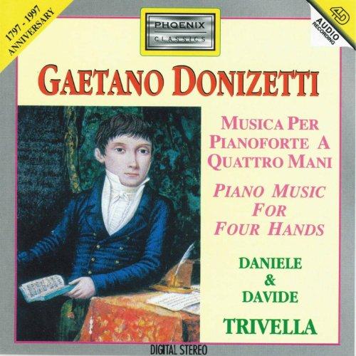 Gaetano Donizetti : Musica per pianoforte a quattro mani