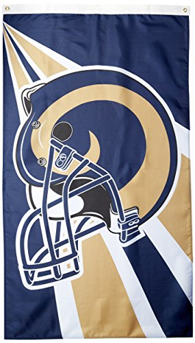 NFL Los Angeles Rams Popular Helmet Design Flag, 3' x - Shops Perimeter Mall
