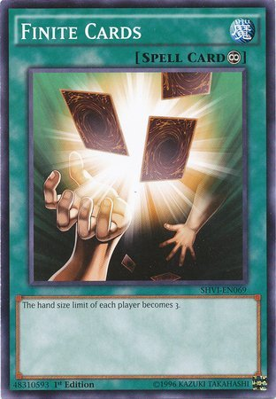Yu-Gi-Oh! - Finite Cards (SHVI-EN069) - Shining Victories - 1st Edition - Common