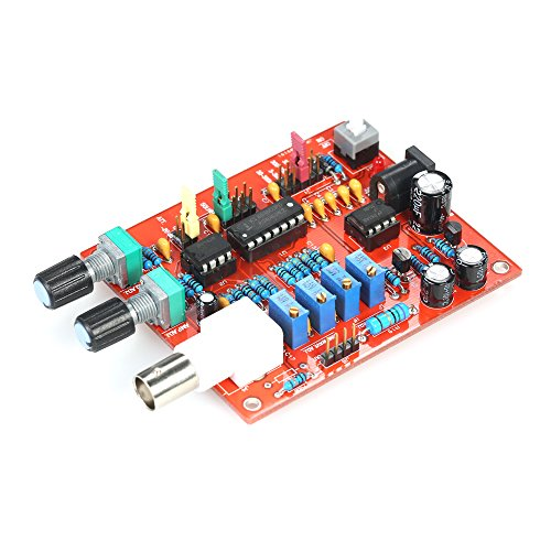 Signal Generator DIY Kit, KKmoon High Precision FG8038(ICL8038) Function Signal Generator DIY Kit Square/Triangle/Sine Wave Output 3Hz-300kHz Adjustable Frequency Amplitude