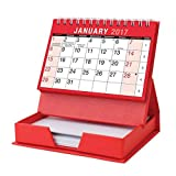 Tallon 2017 One Month To View Calendar/ 80 Sheet Memo Pad with Forward Planner
