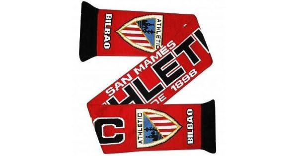 Amazon.com: ATHLETIC Bilbao Fútbol Escudo – Bufanda: Sports ...