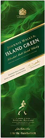 Johnnie Walker Whisky Island Green - 1000 ml