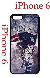 New England Patriots iPhone 6 4.7 Case Hard Silicone Case