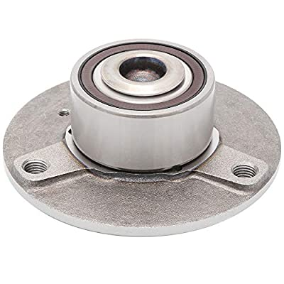 [2-Pack] - FRONT Driver and Passenger Side Wheel Hub Bearing Assembly Repair Kit for 2008-2015 Smart Fortwo [Cross Reference: WJB WA930861K, 051-6439]: Automotive