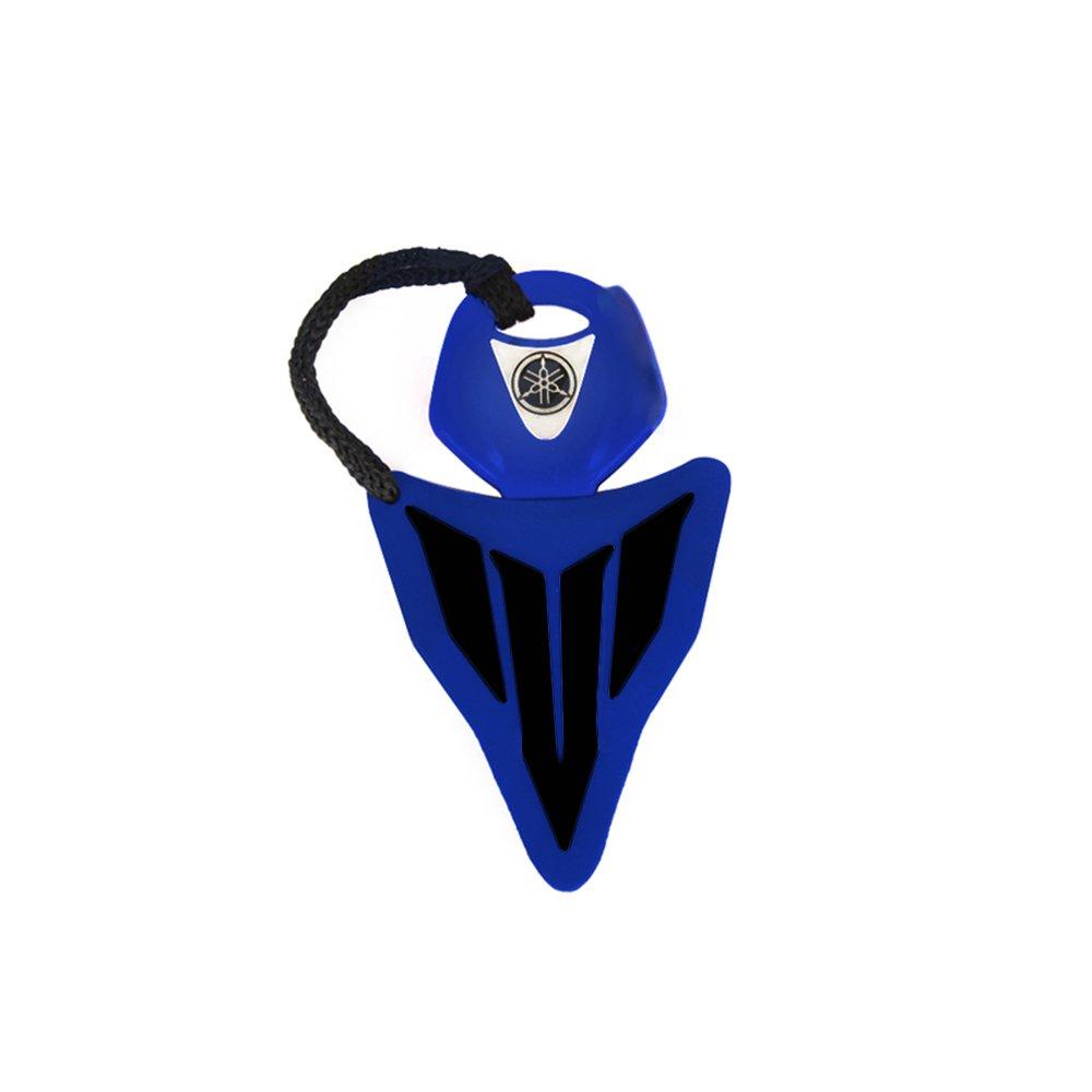 racefoxx Blu//Nero Yamaha MT chiave cover/ /Portachiavi