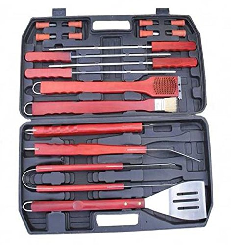Shop24Hrs Portable BBQ Tool Set Good Helper BBQ Grill Outdoor Picnic Barbecue Kitchen Utensils (Child Dolphin Costume Homemade)