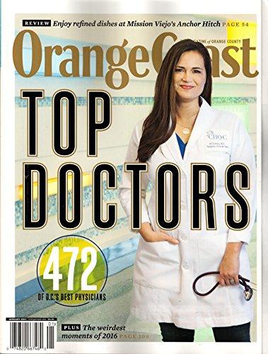 Orange Coast Magazine January 2017   Top Doctors