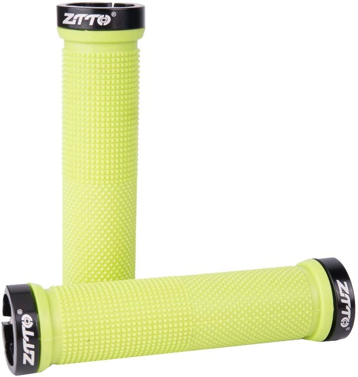 ZTTO Bicycle Handle Grip Straight Handle Cover Soft Antiskid Bike Handle Cover