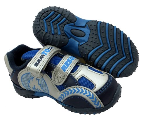 Fireman Sam  Pontypandy, Jungen Sneaker Blau blau