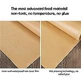 100 Pack 6.6 x 6.6 Inch Kraft Dry Thickening Wax