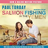 Front cover for the book Salmon Fishing in the Yemen by Paul Torday