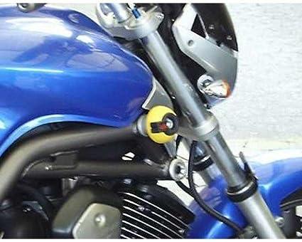 Motorrad Seitenständer Unterlage schwarz Motorrad für Yamaha BT 1100 Bulldog