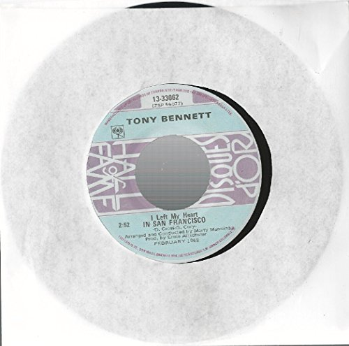 TONY BENNETT - Tony Bennett: I Left My Heart In San Francisco / I Wanna Be Around 7