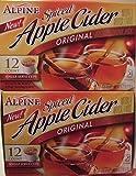 keurig k cups hot apple cider - Alpine Spiced Apple Cider K Cup 2 X 12 Ct (2 Boxes)
