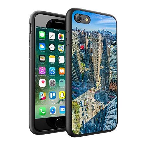 iPhone X Hülle, einzigartige Custom Design Prodective harte zurück dünner dünner Fit PC Bumper Case Kratzfeste Abdeckung für iPhone X - NEW YORK 0019