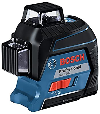 Bosch GLL3-300 12V 360? Three-Plane Leveling and Alignment-Line Laser