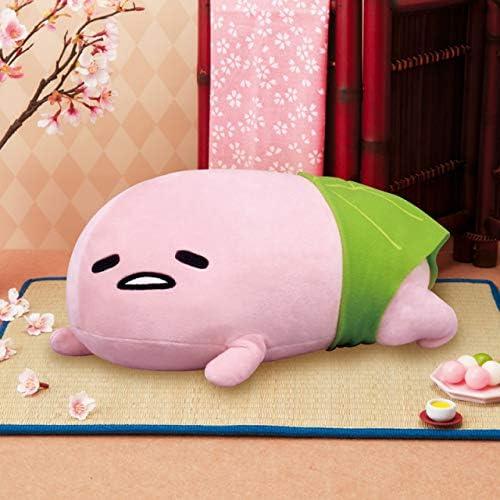furyu Sanrio Jin × Gudetama BIG white stuffed Soft Plush 15cm kawaii cute