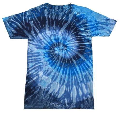 Colortone Tie Dye T-Shirt XL Evening Sky