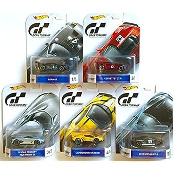 Amazon.com: Hot Wheels Gran Turismo Retro Entertainment ...