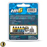 HeadBlade Men's HB6 Refill Shaving Razor Blades
