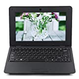 Soledpower® Notebook 1GB DDR3 4GB VIA WM8880 CPU 10 Inch Android 4.2 HD Screen Black