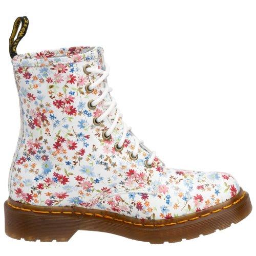5915933fbe4 Dr. Martens Women Floral 1460 Blue 11821407 9 UK Regular  Amazon.co.uk   Shoes   Bags