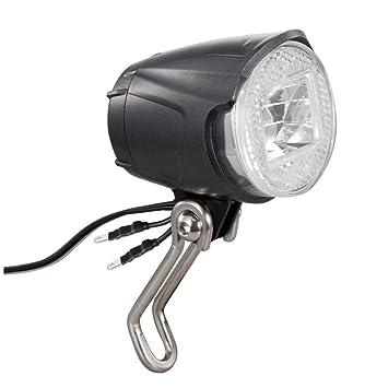yyqxhly Faro LED Luz de Bicicleta Resistente al Agua para Dinamo ...