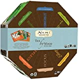 Numi Organic Tea--Tea By Mood Gift Set--40 Count Box of Tea Bags, 5 of Each Flavor--Non-GMO Biodegradable Tea Bags--Full Leaf Premium Organic Bagged Tea
