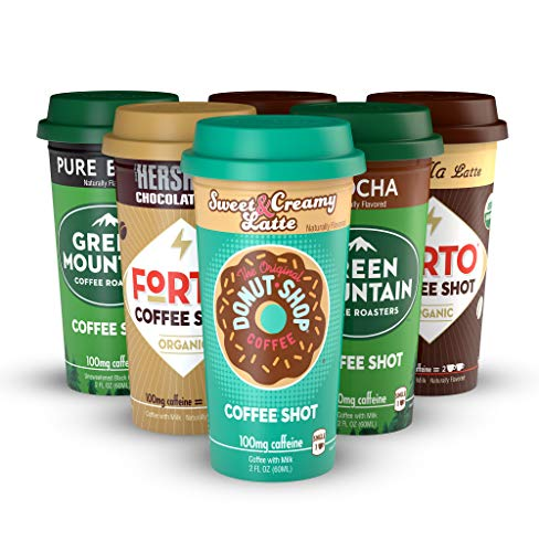 - Coffee Shot Starter Pack (multi-brand) - Variety Pack, Ready-to-Drink on the go, High Energy Cold Brew Coffee - Fast Coffee Energy Boost, 6 Pack