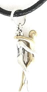 product image for Jane Iris Designs Man Embrace Puzzle Necklace