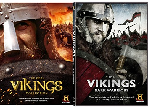 The Vikings: Dark Warriors DVD & The Real Vikings Collection History Channel - Collection Mens Chanel