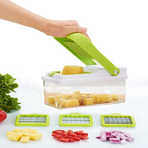 Make Real Shredder Vegetable-Fruit Chopper Vegetable Granulator Cheese-Onion Chopper-Dicer Vegetable slicer