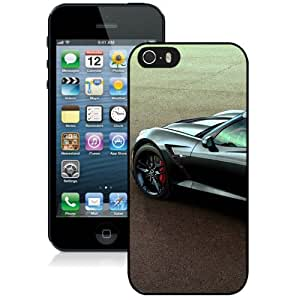 Beautiful And Unique Designed Case For iPhone 5 With 2015 Corvette Z51 Black Phone Case