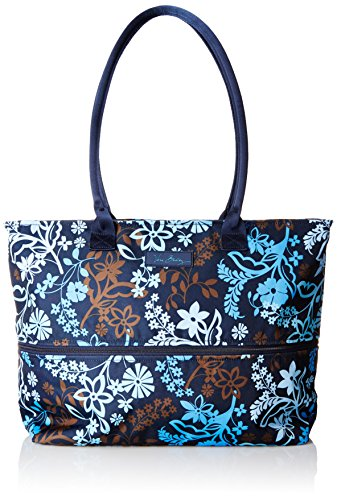Vera Bradley Women's Lighten up Expandable Travel Tote, Java Floral by Vera Bradley (Image #1)