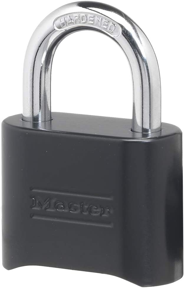 Master Lock 178D Set Your Own Combination Lock, 1 Pack, Black - -