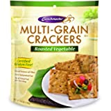 Multi-Grain Crackers Roasted Vegetable 4.50 Ounces (Case of 12)