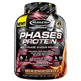 MuscleTech Phase8 Whey Protein Powder Blend, Sustained Release 8-Hour Protein Shake, Milk Chocolate, 4.6 Pound