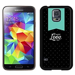 Happy Love Day Durable High Quality Samsung Galaxy S5 Case