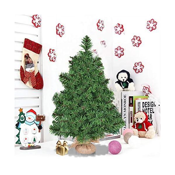 Goplus-Christmas-Tree-Tabletop-Artificial-PVC-Green-Tree