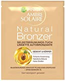 Garnier Ambre Solaire Self-Tanning Cloth, Self Tanning with Apricot Kernel Oil, Tanning Accelerator in Gold (Pack of 1)