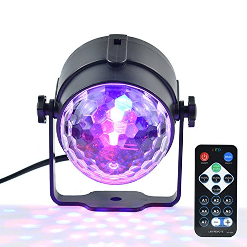 V Disco Laser Light Party Lights Sound IR Remote Control Christmas Projector (Model Power Farmhouse)