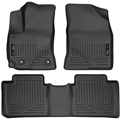 - Husky Liners Front & 2nd Seat Floor Liners Fits 14-19 Corolla