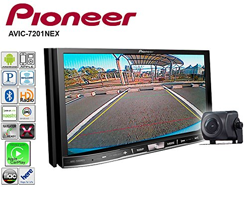 Pioneer AVIC-7201NEX Double Din Radio Install Kit with GPS Navigation Apple CarPlay Android Auto Fits 2010-2013 Non Amplified Toyota 4Runner by Pioneer Volunteer Audio (Image #3)