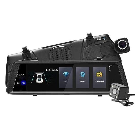 Phisung V6 - Cámara de visión Trasera para Coche con Grabador de vídeo y GPS