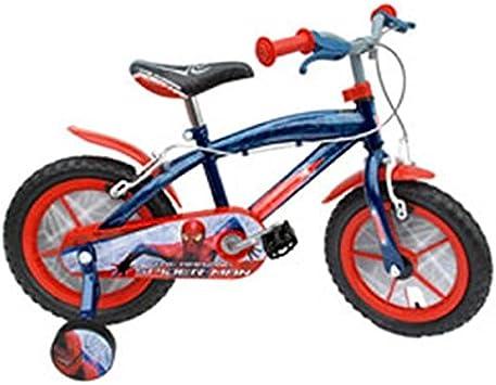 Stamp sm140036nba – Bicicleta Spiderman 14 Rueda Plástico ...