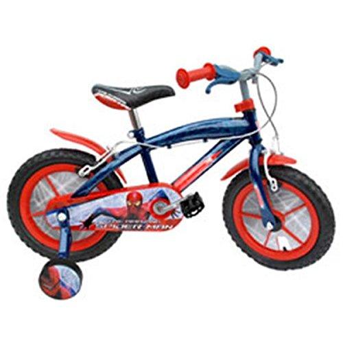 Stamp sm140036nba - Bicicleta Spiderman 14 Rueda Plástico ...
