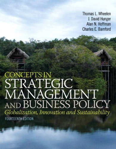 Lighter Lucky 13 - Concepts in Strategic Management and Business Policy (14th Edition)