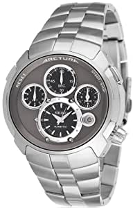 Seiko SLQ025J1 - Reloj con correa de acero para hombre, color gris