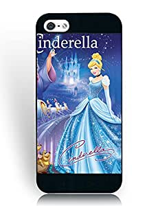 Earthtree Cinderella Cartoon Iphone 5/5S Funda Case, Disney Iphone 5/5S Funda Case, Scratch Resistant Funda Case